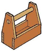 werkzeugkiste herstellen bauanleitung einfache nagelkiste. Black Bedroom Furniture Sets. Home Design Ideas