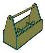 stabile werkzeugkiste einfach selber herstellen bauanleitung. Black Bedroom Furniture Sets. Home Design Ideas